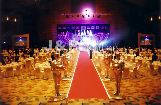 J p creation special events for Annual dinner decoration